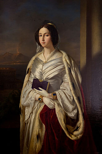 Maria Cristina of Savoy - Image: Maria Cristinadi Savoia