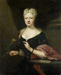 Portrait of Maria Magdalena Stavenisse, Wife of Jacob de Witte of Elkerzee, Councilor of Zierikzee