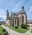 Maria Saal Pfarrkirche Mariae Himmelfahrt SO-Ansicht 30062017 0009.jpg