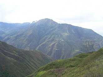 María District - The landscape and highway in the surroundings of María