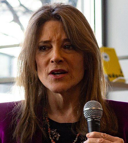 Marianne Williamson February 2019., From WikimediaPhotos