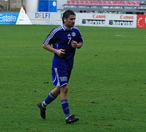 Marians Pahars - Pahars playing for  Skonto
