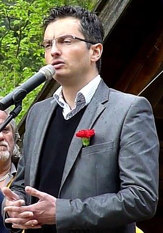 Slovenian presidential election, 2017 - Image: Marjan Šarec 2014