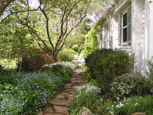 Garden path at Markdale