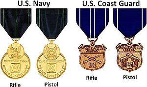 Marksmanship Medal - Image: Marksman Medals
