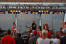 The Marshall Tucker Band on July 4, 2006