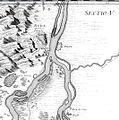 Marsigli Mappa Generalis térképének egy szelvényrészlete a budai Duna szakaszról.jpg