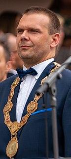 Martin Baxa Czech politician