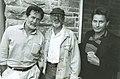 Martin Sheen, Norman Jewison and Emilio Estevez in a photo taken by Tom Sandler. (48198888451).jpg