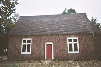 Church Creek, Maryland - Old Trinity Church was built c. 1675