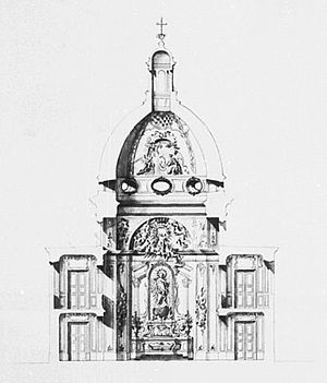 Marywil - Chapel of Holy Mother of Victories in about 1730.