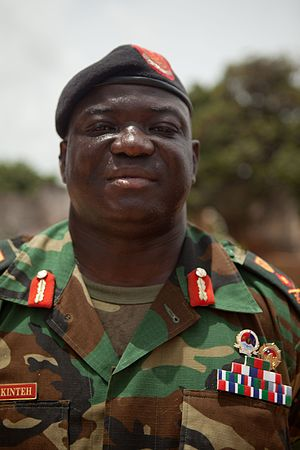 Chief of the Defence Staff (The Gambia) - Image: Masaneh Kinteh