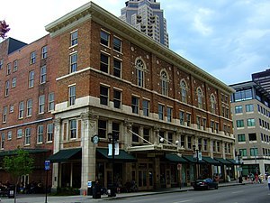 Temple for Performing Arts - The Masonic Temple (1913) at 1011 Locust Street in Des Moines, Iowa.