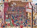 Massacre de Vassy 1562 print by Franz Hogenberg end of 16th century.jpg