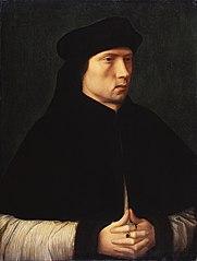 Portrait d'un homme ecclésiastique