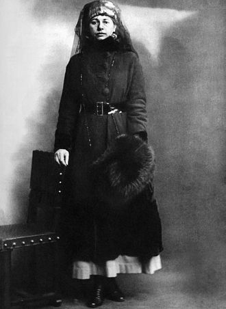 Mata Hari - At her arrest