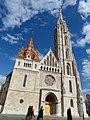 Matthias Church facade, 2013 Budapest (296) (13228383884).jpg