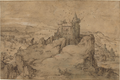 Matthys Cock - Landscape with Castle above a Harbour.tiff