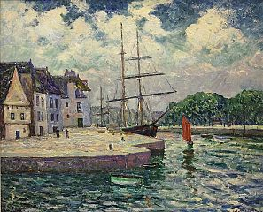 The Port of Saint-Goustan at Auray