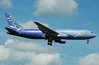 MAXjet Airways - MAXjet Boeing 767-200 in the new livery