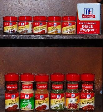 McCormick & Company - Image: Mc Cormick Spices