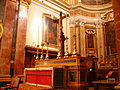 Mdina Metropolitankathedrale St. Paul Innen Hochaltar.JPG