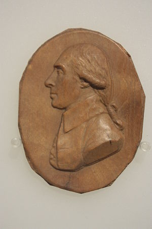 Joseph Black - Medallion of Dr Joseph Black, London Science Museum