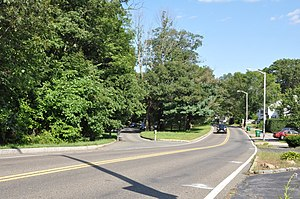 Middlesex Fells Reservation Parkways - Image: Medford MA South Border Road