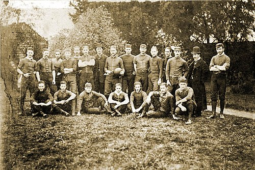 a1ecdf964809b9 Australian rules football club Melbourne of 1879. The club (established in  1859) is