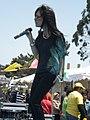 Melissa Reyes performing at 14th AF-AFC 07.JPG