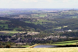 Meltham - Image: Meltham & Lower Holme Valley