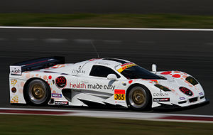 Mosler MT900 - The Mosler MT900M GT300 car at the 2010 Fuji GT 400km.