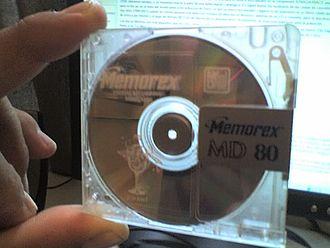 Memorex - Memorex brand Mini-Disc