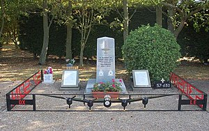RAF East Kirkby - Memorial to Number 57 and 630 Sqn, East Kirkby