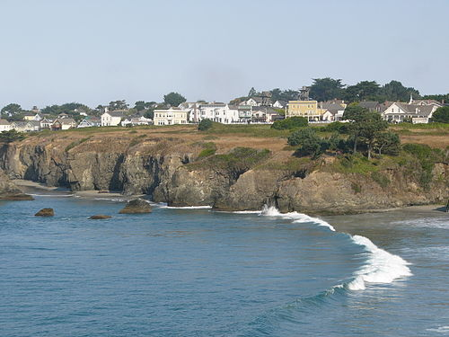 CABOT COVE ... filmed in Mendocino, CA