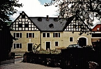 House of Aufseß - Manor house of the Aufseß family in Mengersdorf, near Mistelgau in Upper Franconia