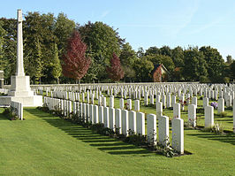 Menin Road South Military Commonwealth War Graves Commission Cemetery