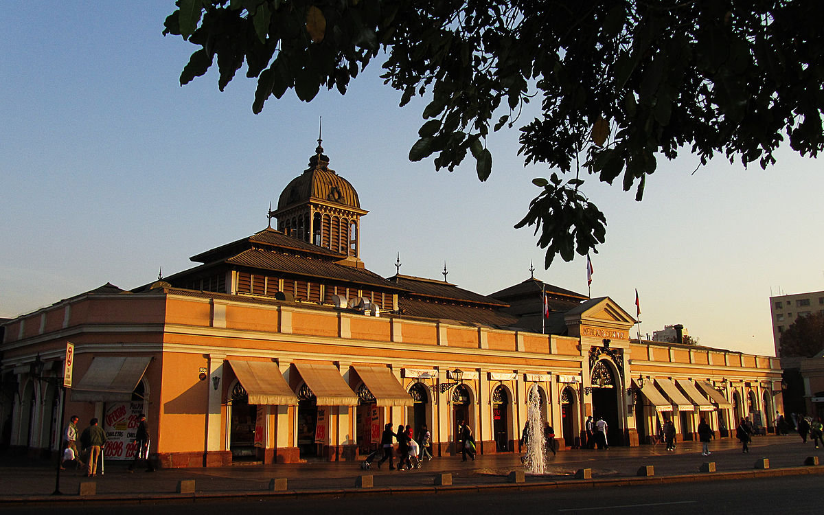 Mercado Central De Santiago Wikipedia