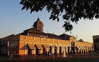 Mercado Central de Santiago - North façade