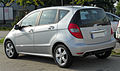 Mercedes A 160 BlueEFFICIENCY Avantgarde (W169) Facelift rear 20100911.jpg