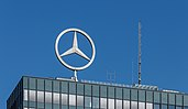 Mercedes logo, Europa-center, Berlin, Germany, 2014-07-12-3346.jpg