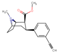 Methyl (1R,2S,3S,5S)-3-(3-ethynylphenyl)-8-methyl-8-azabicyclo(3.2.1)octane-2-carboxylate.png