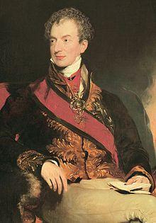 Klemens Wenzel Lothar von Metternich (Quelle: Wikimedia)