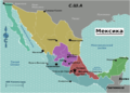 Mexico regions map (ru).png