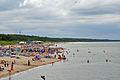 Międzyzdroje, am Strand, e (2011-07-25) by Klugschnacker in Wikipedia.jpg