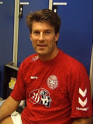 Michael Laudrup - Laudrup during his time as assistant manager of Denmark in 2000