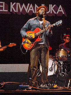 Michael Kiwanuka British soul singer-songwriter