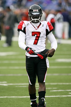 Michael Vick - Vick with the Atlanta Falcons during the 2006 season