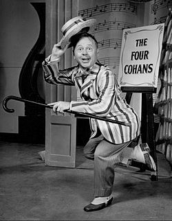 Mickey Rooney elokuvassa Mr. Broadway 1957.