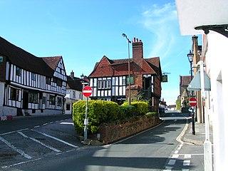 Midhurst Human settlement in England